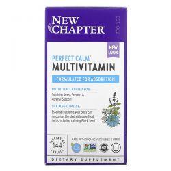 New Chapter, Perfect Calm Multivitamin, 144 Vegetarian Tablets Dla Dzieci