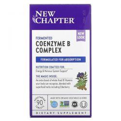 New Chapter, Fermented Coenzyme B Complex, 90 Vegetarian Tablets Dla Dzieci