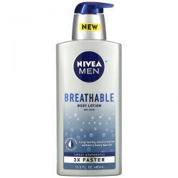 Nivea, Men, Breathable Body Lotion, 13.5 fl oz (400 ml) Dla Dzieci