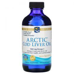 Nordic Naturals, Arctic Cod Liver Oil, 8 fl oz (237 ml) Pozostałe