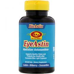Nutrex Hawaii, BioAstin, EyeAstin, Hawaiian Astaxanthin, 6 mg, 60 Softgels Pozostałe