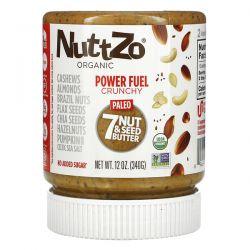 Nuttzo, Organic, Power Fuel, 7 Nut & Seed Butter, Crunchy, 12 oz (340 g) Pozostałe