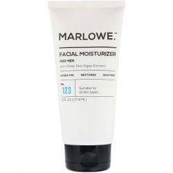 Marlowe, Men's Facial Moisturizer, No. 123, 6 fl oz (177.4 ml) Animowane