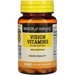 Mason Natural, Vision Vitamins Plus Lutein, 60 Tablets Pozostałe