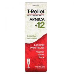 MediNatura, T-Relief, Arnica + 12, 4 oz (114 g) Pozostałe