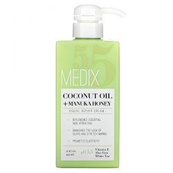 Medix 5.5, Coconut Oil + Manuka Honey, Visual Repair Cream, 15 fl oz (444 ml) Pozostałe