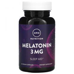 MRM, Melatonin, 3 mg, 60 Vegan Capsules Pozostałe