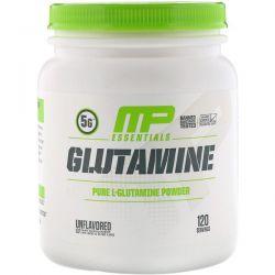 MusclePharm, Essentials, Glutamine, Unflavored, 1.32 lbs (600 g)  Pozostałe