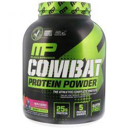 MusclePharm, Combat Protein Powder, Triple Berry, 4 lbs (1814 g) Pozostałe