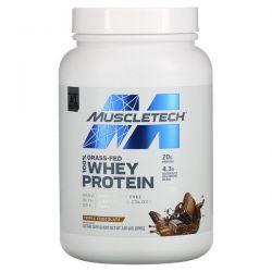 Muscletech, 100% Grass-Fed Whey Protein, Triple Chocolate, 1.8 lbs (816 g) Pozostałe