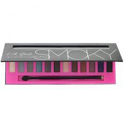 L.A. Girl, Beauty Brick, Smoky Eyeshadow Palette, 0.42 oz (12 g) Pozostałe