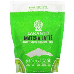 Lakanto, Matcha Latte, Sweetened with Monkfruit, 10 oz (283 g) Pozostałe