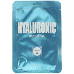 Lapcos, Hyaluronic Sheet Beauty Mask, Moisturizing, 1 Sheet, 0.84 fl oz (25 ml) Pozostałe