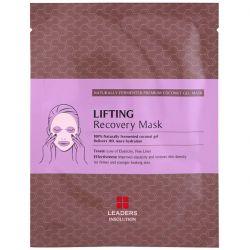 Leaders, Coconut Gel Lifting Recovery Beauty Mask, 1 Sheet, 30 ml Pozostałe