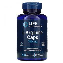 Life Extension, L-Arginine Caps, 700 mg, 200 Capsules Pozostałe