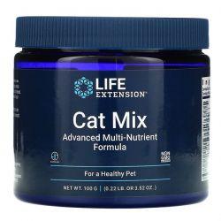 Life Extension, Cat Mix, Advanced Multi-Nutrient Formula, 3.52 oz (100 g) Pozostałe