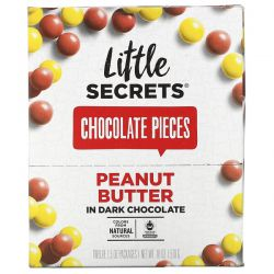 Little Secrets, Dark Chocolate Pieces, Peanut Butter, 12 Pack, 1.5 oz (42.5 g) Each Pozostałe