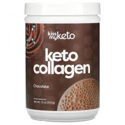 Kiss My Keto, Keto Collagen, Chocolate, 12 oz (340 g) Pozostałe