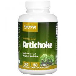 Jarrow Formulas, Artichoke, 500 mg, 180 Veggie Caps Pozostałe