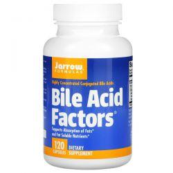 Jarrow Formulas, Bile Acid Factors, 120 Capsules Animowane