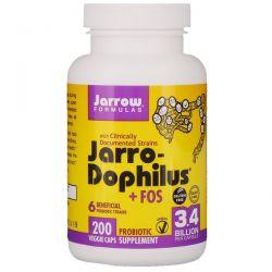 Jarrow Formulas, Jarro-Dophilus + FOS, 3.4 Billion, 200 Capsules Pozostałe