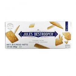 Jules Destrooper, Ginger Thins Cookies, 3.4 oz (95 g) Animowane