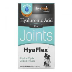 Hyalogic, Hyaluronic Acid, HyaFlex, For Dogs, 1 oz (30 ml) Pozostałe