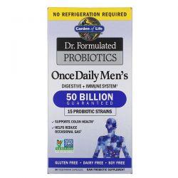 Garden of Life, Dr. Formulated Probiotics, Once Daily Men's, 50 Billion, 30 Vegetarian Capsules Pozostałe