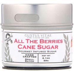 Gustus Vitae, Cane Sugar, All The Berries, 2.1 oz (59 g) Pozostałe
