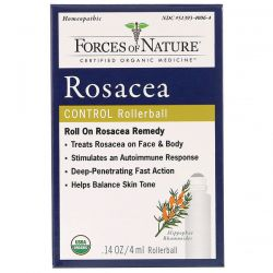 Forces of Nature, Rosacea Control, Rollerball,  0.14 oz (4 ml) Pozostałe