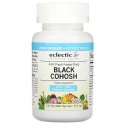 Eclectic Institute, Raw Fresh Freeze-Dried, Black Cohosh, 370 mg, 100  Non-GMO Veg Caps Pozostałe