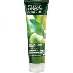 Desert Essence, Organics, Shampoo, Green Apple & Ginger, 8 fl oz (237 ml) Pozostałe