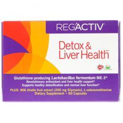 Dr. Ohhira's, Reg'Activ, Detox & Liver Health, 60 Capsules Pozostałe