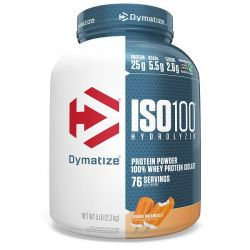 Dymatize Nutrition, ISO100 Hydrolyzed, 100% Whey Protein Isolate, Orange Dreamsicle, 5 lbs (2.3 kg) Pozostałe