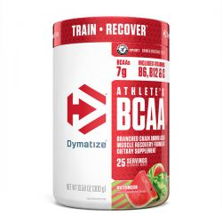 Dymatize Nutrition, Athlete's BCAA, Watermelon, 10.58 oz (300 g)