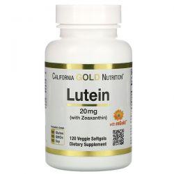 California Gold Nutrition, Lutein with Zeaxanthin, 20 mg, 120 Veggie Softgels Pozostałe