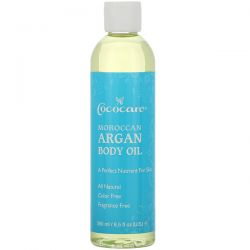 Cococare, Moroccan Argan Body Oil, 8.5 fl oz (250 ml) Pozostałe