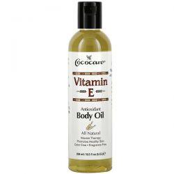 Cococare, Vitamin E, Body Oil, 8.5 fl oz (250 ml) Pozostałe