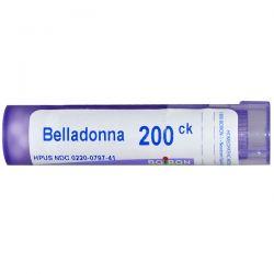 Boiron, Single Remedies, Belladonna, 200CK, Approx 80 Pellets Pozostałe