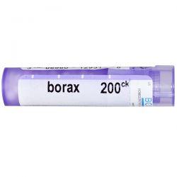 Boiron, Single Remedies, Borax, 200 CK, Approx 80 Pellets Zdrowie i Uroda