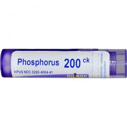 Boiron, Single Remedies, Phosphorus, 200CK, Approx 80 Pellets Zdrowie i Uroda