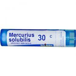 Boiron, Single Remedies, Mercurius Solubilis, 30C, Approx 80 Pellets Zdrowie i Uroda