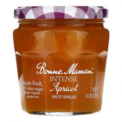 Bonne Maman, Intense Apricot Fruit Spread, 8.2 oz (235 g) Zdrowie i Uroda