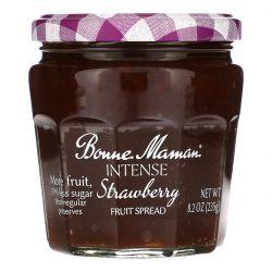 Bonne Maman, Intense Strawberry Fruit Spread, 8.2 oz (235 g) Zdrowie i Uroda