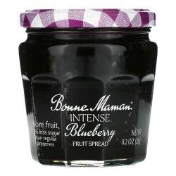 Bonne Maman, Intense Blueberry Fruit Spread, 8.2 oz (235 g) Zdrowie i Uroda