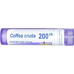 Boiron, Single Remedies, Coffea Cruda, 200CK, Approx 80 Pellets Zdrowie i Uroda