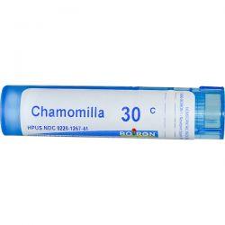 Boiron, Single Remedies, Chamomilla, 30C, Approx 80 Pellets Zdrowie i Uroda