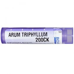 Boiron, Single Remedies, Arum Triphyllum, 200CK, Approx 80 Pellets Zdrowie i Uroda