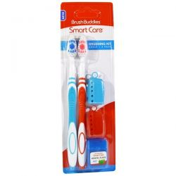 Brush Buddies, Smart Care, Brushing Kit, Adult, 2 Pack Zdrowie i Uroda