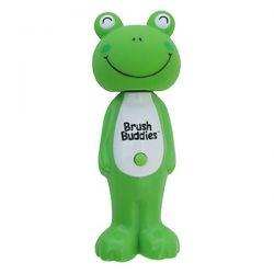 Brush Buddies, Poppin', Leapin' Louie Frog, Soft, 1 Toothbrush Zdrowie i Uroda